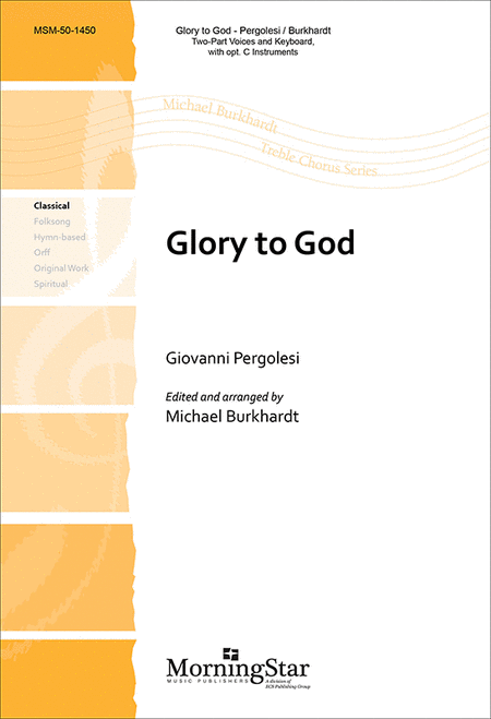 Glory to God (Choral Score)