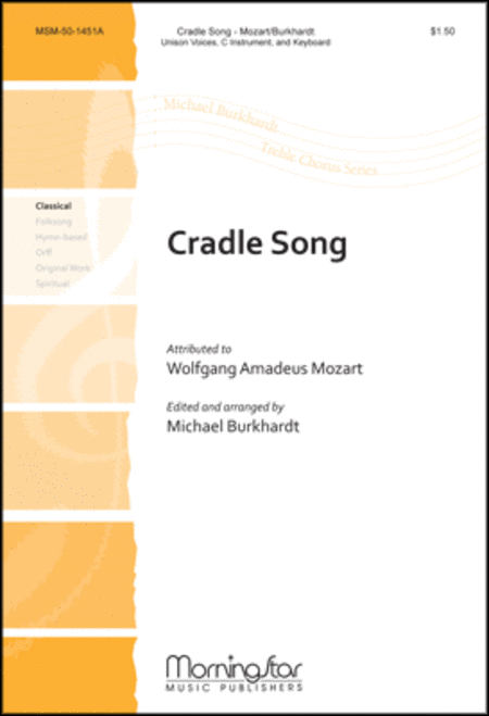 Cradle Song (Choral Score)