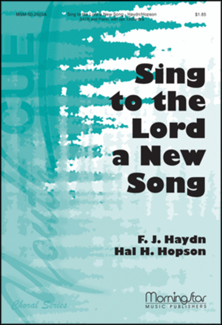 Sing to the Lord a New Song (Orchestral Score)