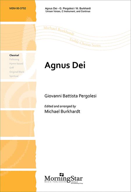 Agnus Dei (Choral Score)