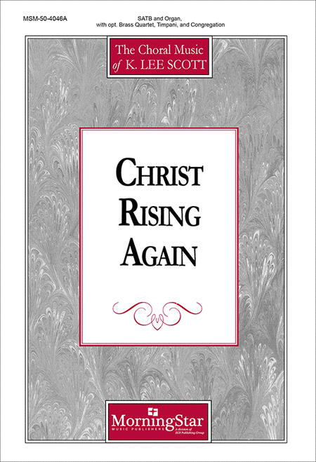 Christ Rising Again (Choral Score)