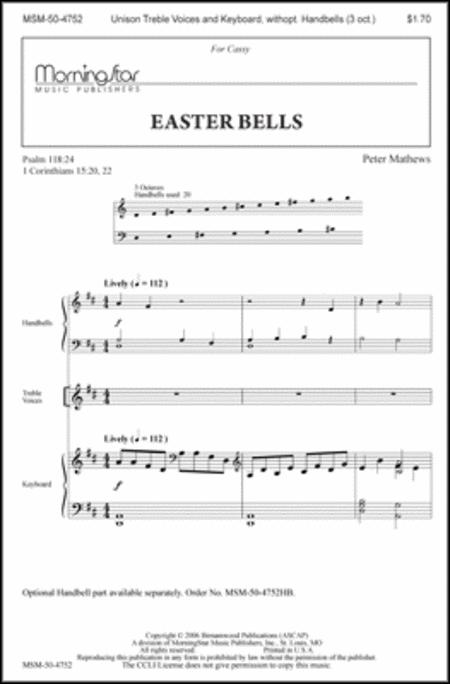 Easter Bells (Choral Score)
