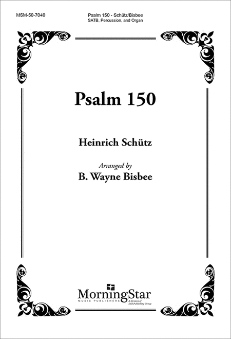 Psalm 150 (Choral Score)