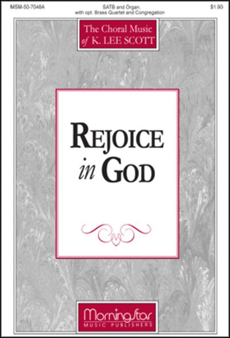 Rejoice in God (Choral Score)
