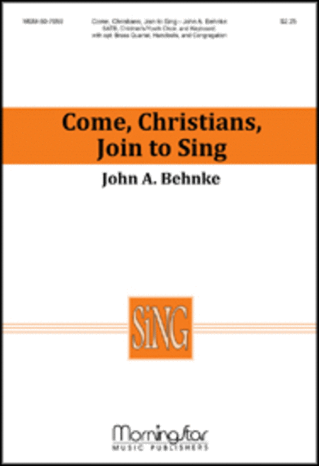 Come, Christians, Join to Sing (Choral Score)