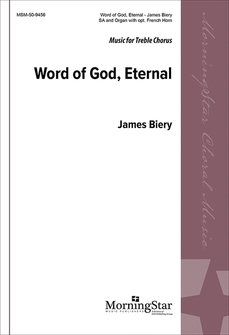 Word of God Eternal (Choral Score)
