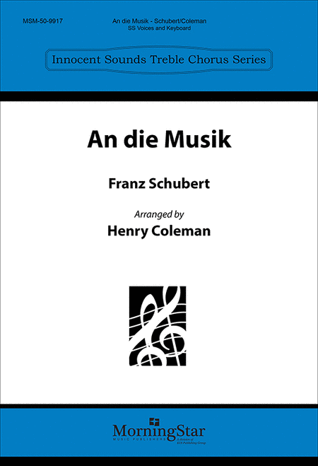An die Musik (To Music)