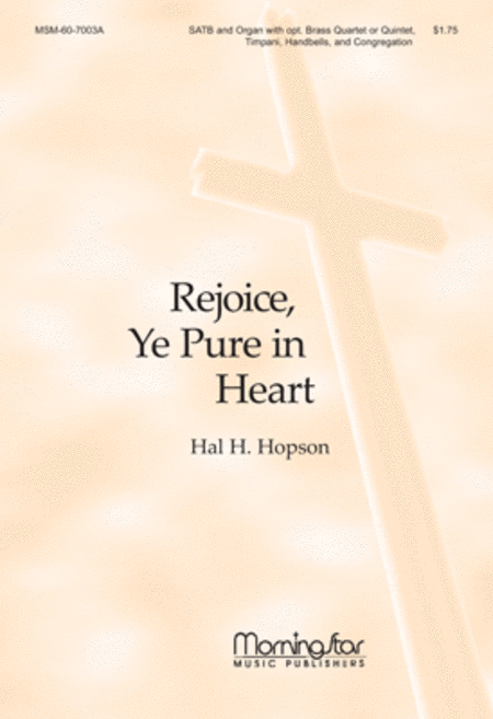 text rejoice pure heart