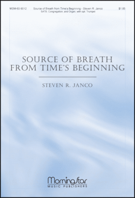 Source of Breath from Time's Beginning (Congregation Hymn Sheet)