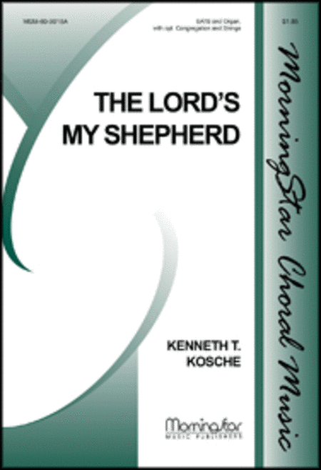 The Lord's My Shepherd (Choral Score)