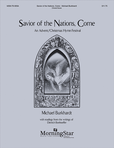 Savior of the Nations, Come (Choral Score)