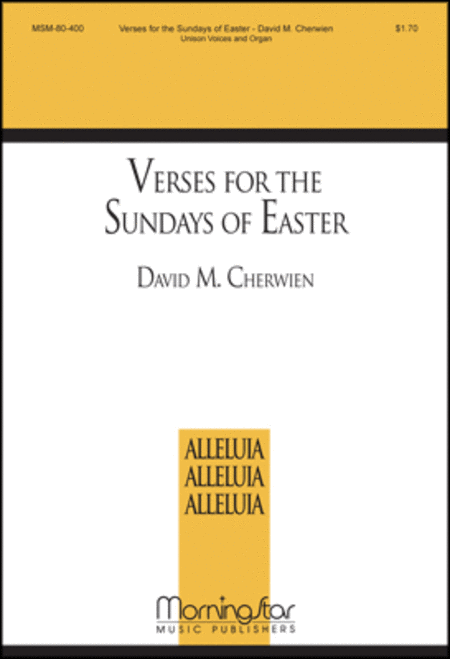Verses for the Sundays of Easter