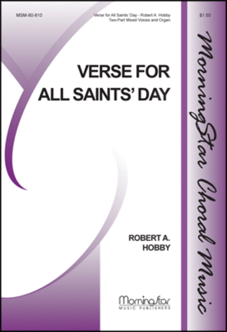 Verse for All Saints' Day