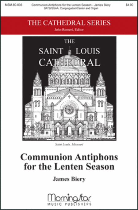 Communion Antiphons for the Lenten Season