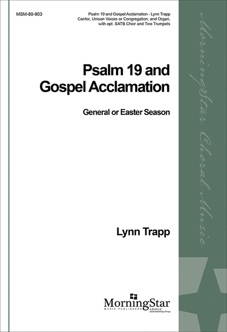 Psalm 19 / Gospel Acclamation (Choral Score)