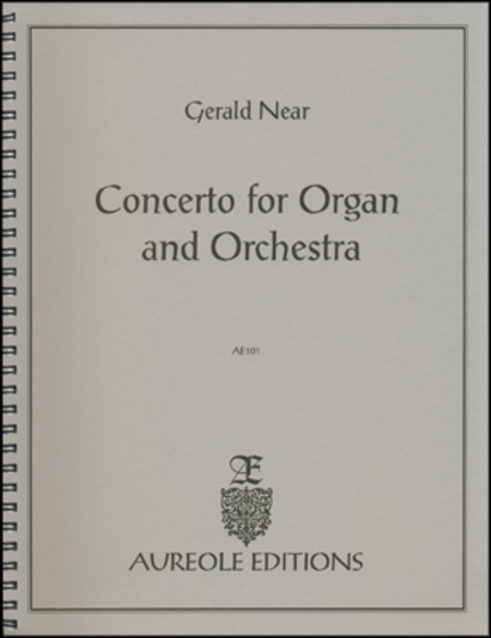Concerto for Organ & Orchestra (Orchestral Reduction)