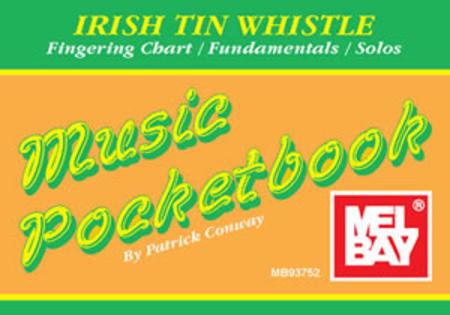 Irish Tin Whistle Music Pocketbook