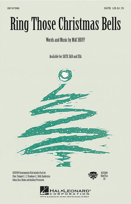 Ring Those Christmas Bells - ShowTrax CD