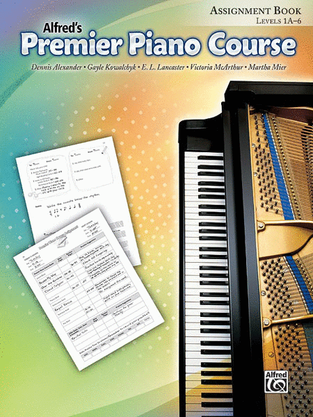 Premier Piano Course Assignment Book