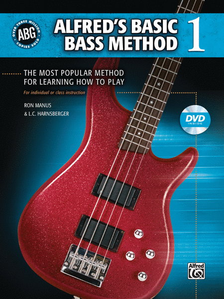 Alfred's Basic Bass Method, Book 1 (Book and DVD)