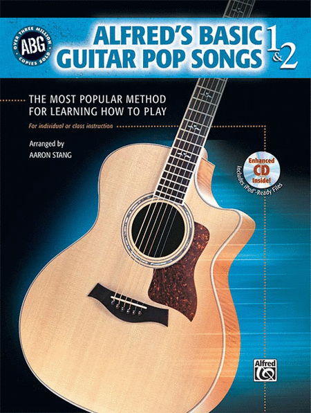Alfred's Basic Guitar Pop Songs, Book 1 & 2