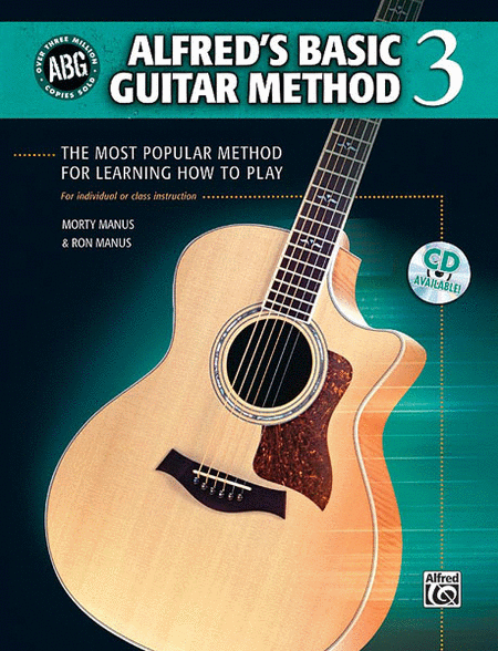 Alfred's Basic Guitar Method, Book 3 (Book and CD)