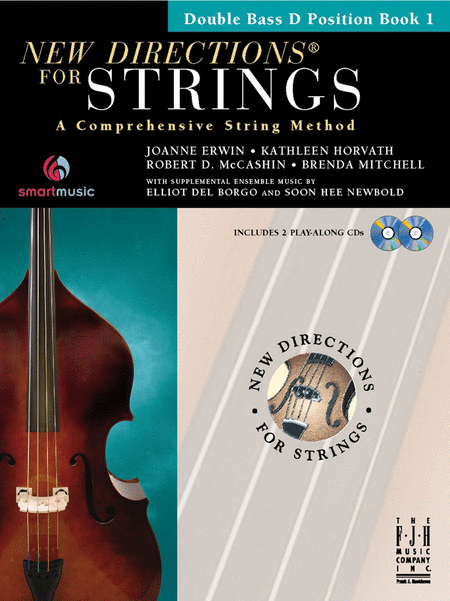 New Directions for Strings (Double Bass D Position Book I)