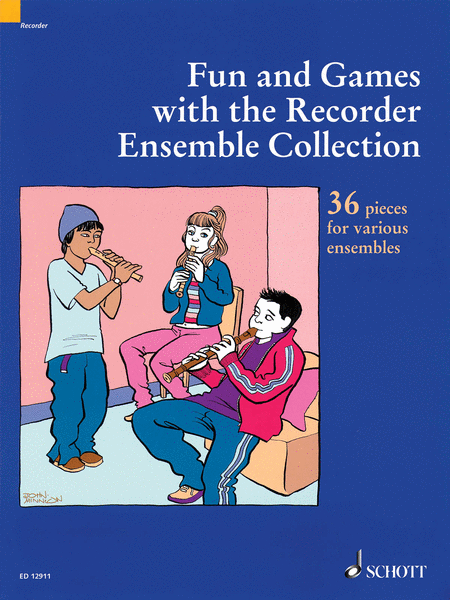 Fun and Games with the Recorder - Ensemble Collection