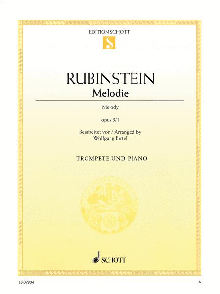 Melodie Op. 3, No. 1