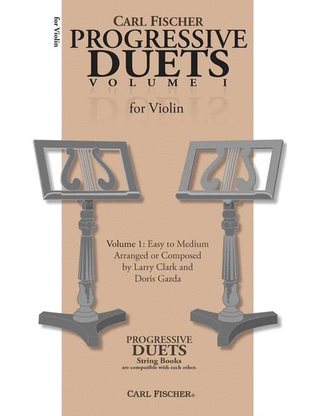 Carl Fischer Progressive Duets, Volume 1 - for Violin