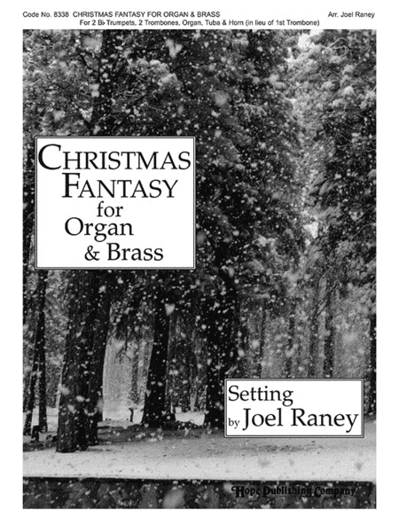 Christmas Fantasy For Organ & Brass