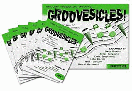 Groovesicles - 8 Ensembles for 6 Young Percussionists