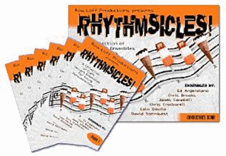 Rhythmsicles - 8 Ensembles for 6 Young Percussionists