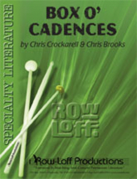 Box O' Cadences (with CD)