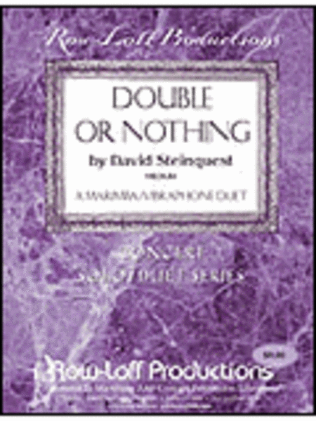 Double Or Nothing - Marimba/Vibe
