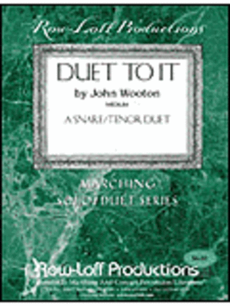 Duet To It - Snare Drum/Tenor Drum