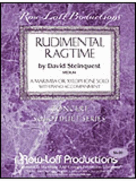 Rudimental Ragtime - Xylo or Marimba
