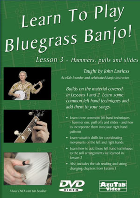 Learn to Play Bluegrass Banjo, Lesson 3