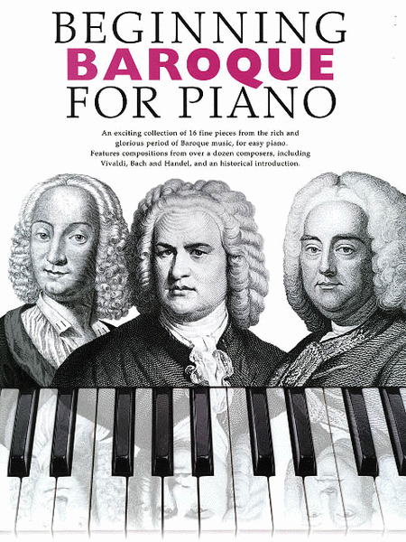 Beginning Baroque for Piano