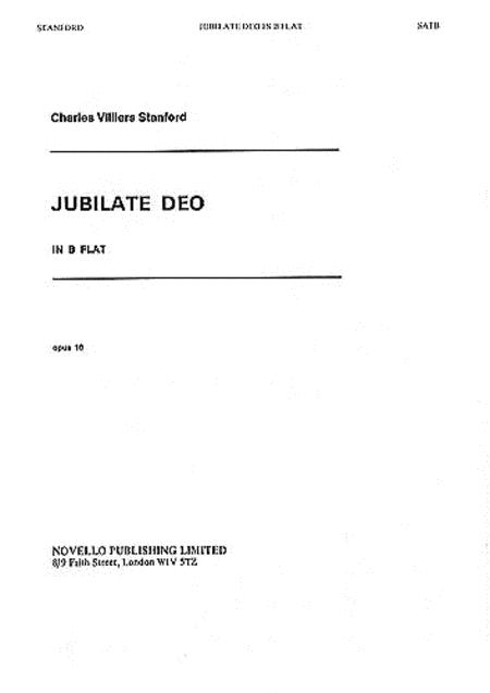 Jubilate Deo in B-flat, Op. 10