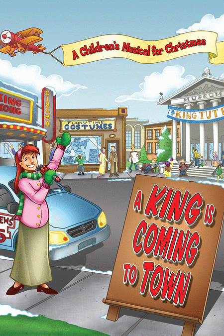 A King Is Coming To Town (Bulletins-100 Pack)