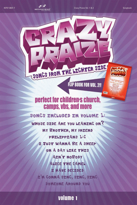 Crazy Praize, Volume 1 (DVD Demonstration and Split Track)