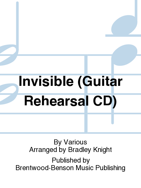 Invisible (Guitar Rehearsal CD)