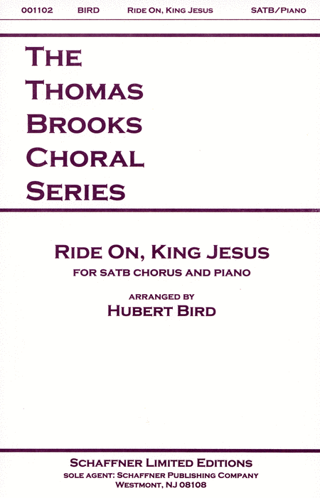 Ride On, King Jesus