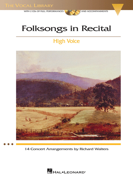 Folksongs in Recital - 14 Concert Arrangements