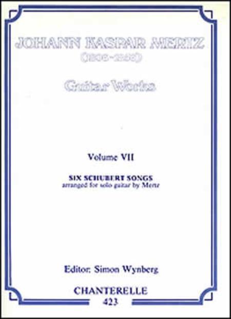 J.K. Mertz: Guitar Works Volume 7