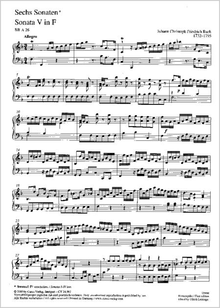 Drei Sonaten
