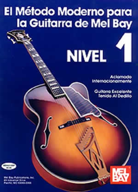 Modern Guitar Method Grade 1, Spanish Edition