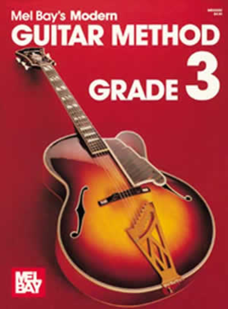 Mel Bay's Modern Guitar Method - Grade 3
