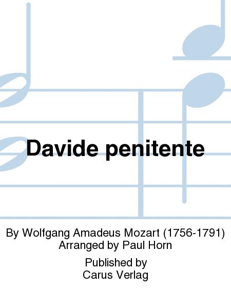 Davide penitente